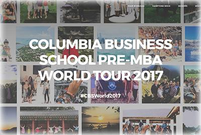 Pre-MBA World Tour
