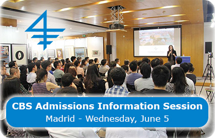 CBS Admissions Information Session