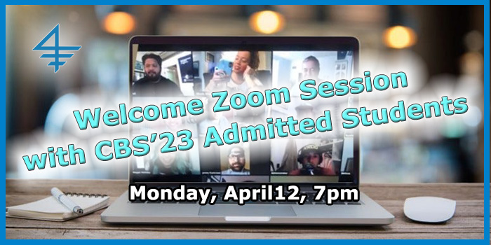 CBSCS - Zoom Session Admitted Students